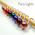 Fairy Lights Infinity Ring Stitch Markers