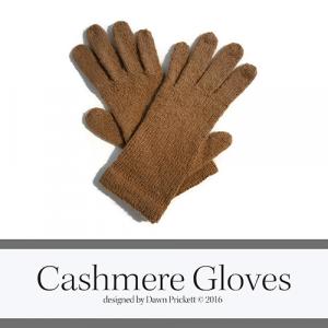 Cashmere Gloves Square