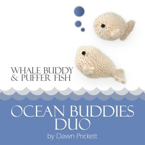 Whale Buddy & Puffer Fish D